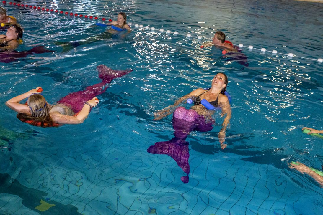 zeemeermin aerobics